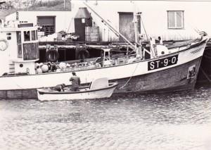 MS Djupaskjær, seifiske i 1977