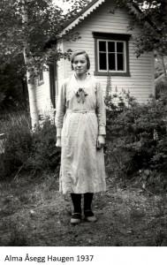 Alma Åsegg 1937x