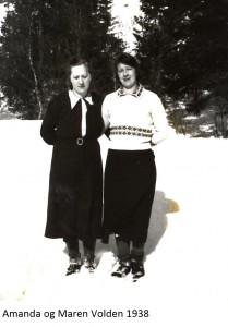 Amanda Volden, Maren Volden 1938x