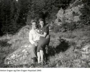 Anton Engan, Elen Engan Hopstad 1945x