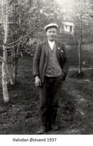Halvdan Østvann 1937x