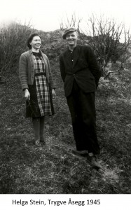 Helga Stein, Trygve Åsegg 1945x