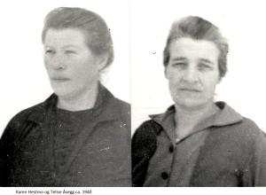 Karen Hestmo, Telise Åsegg 1940
