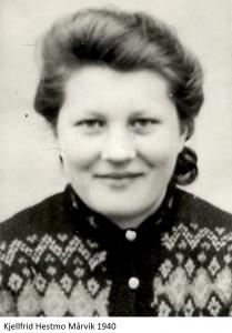 Kjellfrid Hestmo Mårvik 1940x