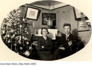 Line Osen Stein, Olav Stein 1935x