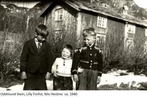 Oddmund Stein, Lilly Forfot, Nils Hestmo 1940x