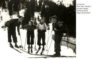 Ottar Osen, Synøve Haugen, Ida Nordmeland, Birger Nordmeland 1947x