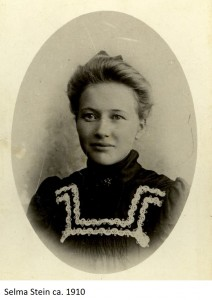 Selma Stein 1910x