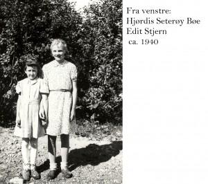 Sonja Haugen, Edit Stjern 1940
