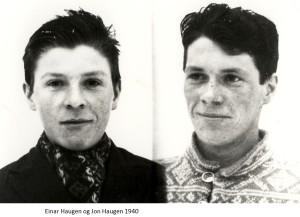 einar Haugen, Torleif Haugen 1940
