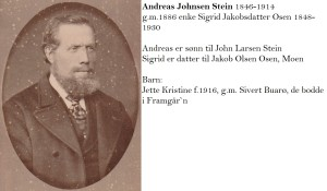 Andreas Johnsen Stein