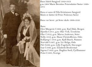 Hans og Marie Sørgjerd