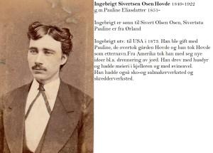 Ingebrigt Sivertsen Osen Hovde 1849-1822