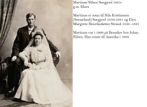 Martinus og Klara Sørgjerd