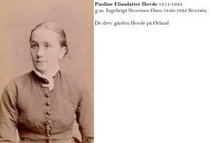 Pauline Eliasdatter Hovde