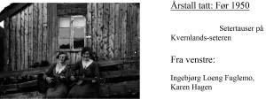 setertauser-kvernlandsseteren